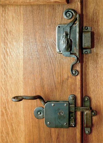 Stare zamky na dvere