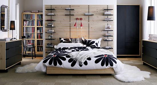 Coat And Umbrella Stand Ikea ~ Čelo Mandal tvoří rastr z úzkých latí, mezi něž lze vkládat