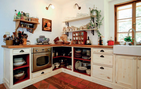 Vintage styl kuchyně