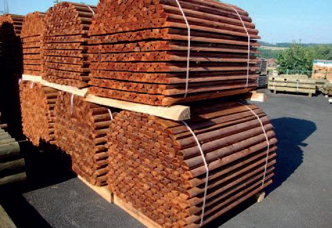 Hloubková impregnace dřeva