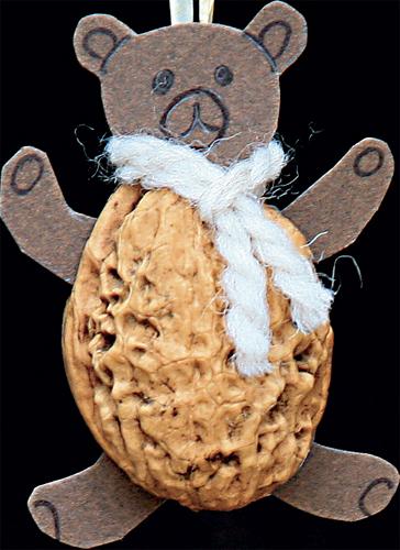 Výrobky ze skořápek ořechů