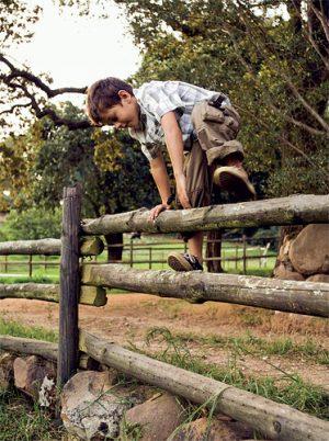 Dřevěné venkovské ploty