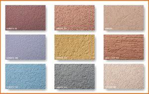 Fasádní barva vzorník