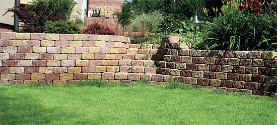 Betonové tvarovky svahovky