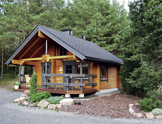 Dřevostavby chaty na klíč