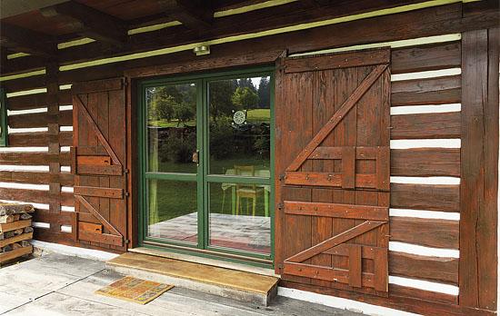 Francouzské okno dřevěné cena