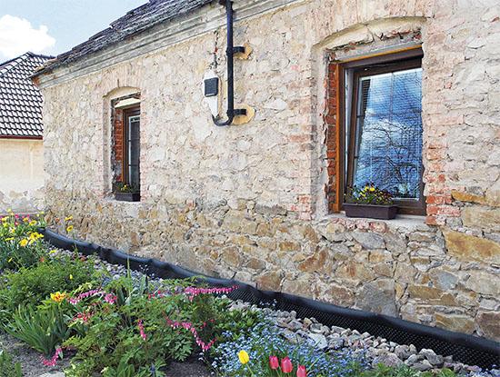 Zateplení kamenného domu