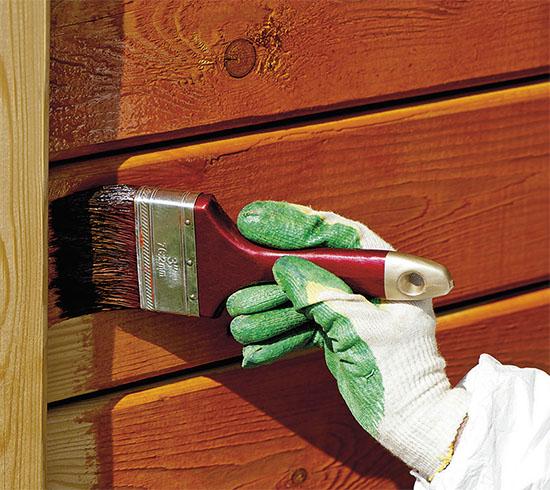 Čím natřít dřevo