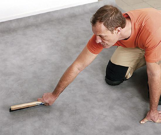 Vyrovnávací stěrka na podlahu