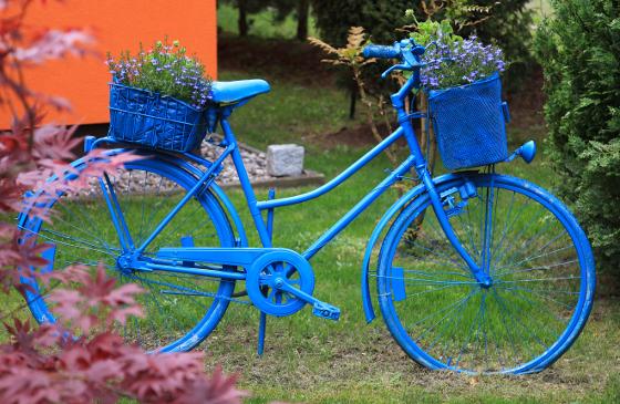 Декор велосипеда своими руками