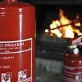 Kde je riziko požáru, tam by měl být i vhodný hasicí přístroj.