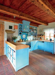 Kuchyně V Retrostylu Chatař Chalupář