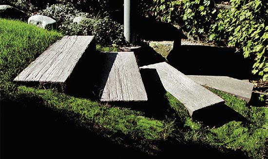 Betonové zahradní schody  Chatař & Chalupář