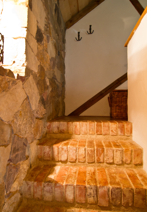 Jak postavit schody z cihel