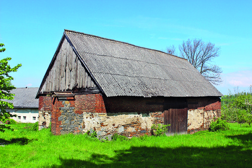 Demolice stodoly povolení