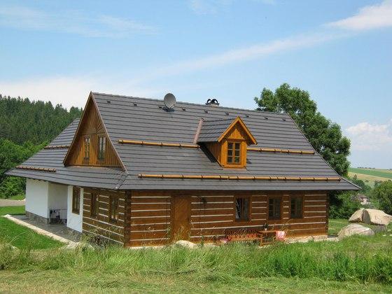 Střešní krytina na chatu