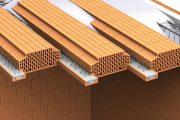 Některé stropy z keramických vložek už nevyžadují nadbetonování horní vrstvou betonu (Wienerberger)